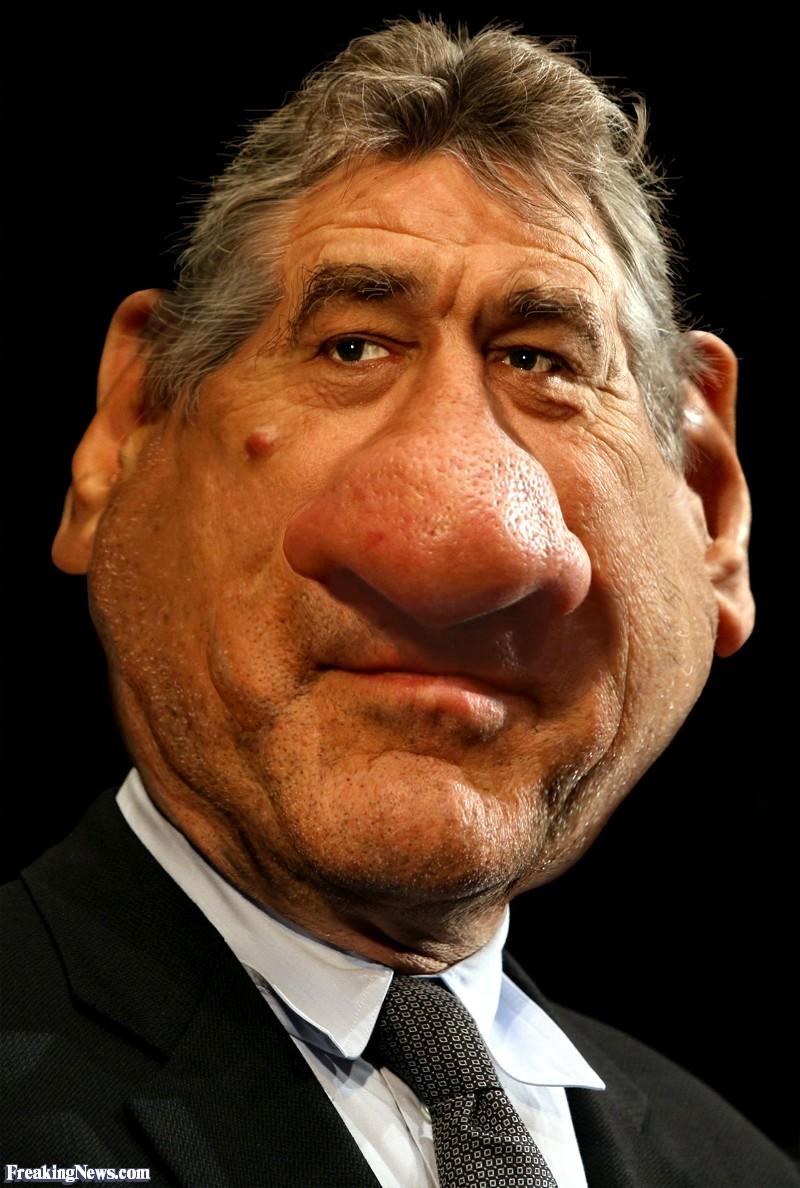 Big Nosed Robert DeNiro