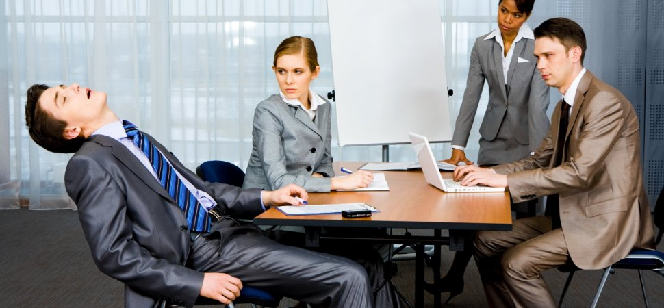 A Creepy Guy In Office, Image Source: Getty Images